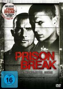 Prison Break (Komplette Serie + Spielfilm »Final Break«), 24 DVDs