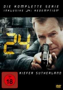 24 (Komplette Serie inkl. 24: Redemption), 49 DVDs