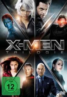 X-Men Trilogie, 3 DVDs