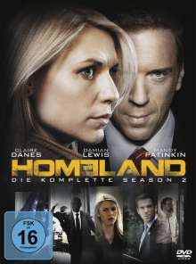 Homeland Staffel 2, 4 DVDs