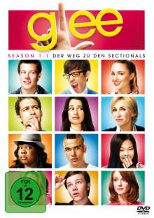 Glee Season 1 Box 1, 3 DVDs