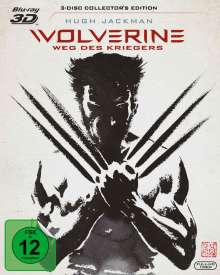Wolverine - Weg des Kriegers (3D & 2D Blu-ray + Extended Cut), 3 Blu-ray Discs