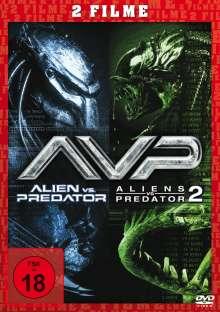 Alien vs. Predator 1 & 2, DVD