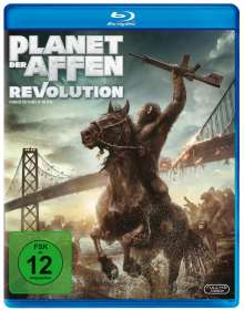 Planet der Affen: Revolution (Blu-ray), Blu-ray Disc