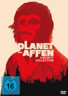 Planet der Affen I-V (Legacy Collection), 5 DVDs