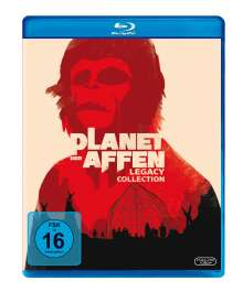 Planet der Affen I-V (Legacy Collection) (Blu-ray), 5 Blu-ray Discs