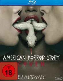 American Horror Story Staffel 3: Coven (Blu-ray), 3 Blu-ray Discs