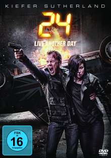 24 Staffel 9: Live Another Day, 4 DVDs