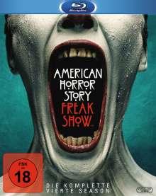 American Horror Story Staffel 4: Freak Show (Blu-ray), 3 Blu-ray Discs