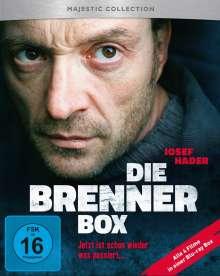 Die Brenner Box (Blu-ray), 4 Blu-ray Discs