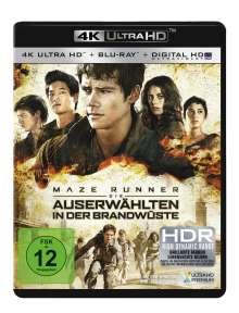 Maze Runner 2 - Die Auserwählten in der Brandwüste (Ultra HD Blu-ray & Blu-ray), 1 Ultra HD Blu-ray und 1 Blu-ray Disc