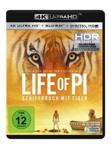 Life of Pi (Ultra HD Blu-ray & Blu-ray), 1 Ultra HD Blu-ray und 1 Blu-ray Disc