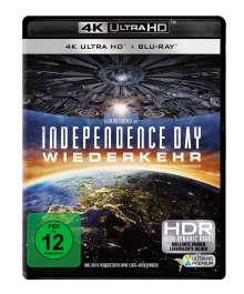 Independence Day 2 - Wiederkehr (Ultra HD Blu-ray & Blu-ray), 1 Ultra HD Blu-ray und 1 Blu-ray Disc