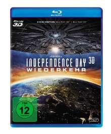 Independence Day 2 - Wiederkehr (3D & 2D Blu-ray), 2 Blu-ray Discs