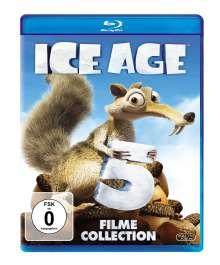 Ice Age 1-5 (Blu-ray), 5 Blu-ray Discs