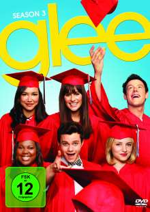 Glee Season 3, 6 DVDs