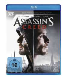 Assassin's Creed (3D & 2D Blu-ray), 2 Blu-ray Discs