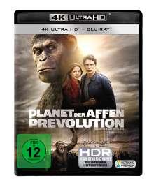 Planet der Affen: Prevolution (Ultra HD Blu-ray & Blu-ray), 1 Ultra HD Blu-ray und 1 Blu-ray Disc
