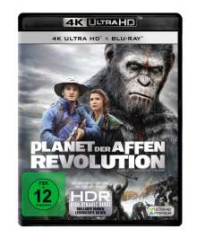 Planet der Affen: Revolution (Ultra HD Blu-ray & Blu-ray), 1 Ultra HD Blu-ray und 1 Blu-ray Disc