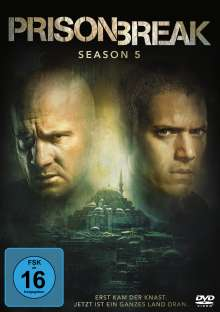 Prison Break Staffel 5, 3 DVDs