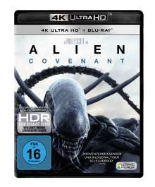 Alien: Covenant (Ultra HD Blu-ray & Blu-ray), 1 Ultra HD Blu-ray und 1 Blu-ray Disc