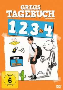 Gregs Tagebuch 1-4, 4 DVDs