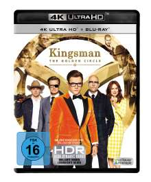 Kingsman 2 - The Golden Circle (Ultra HD Blu-ray & Blu-ray), 1 Ultra HD Blu-ray und 1 Blu-ray Disc