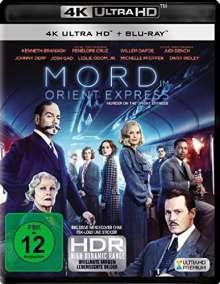 Mord im Orient Express (2017) (Ultra HD Blu-ray & Blu-ray), 1 Ultra HD Blu-ray und 1 Blu-ray Disc