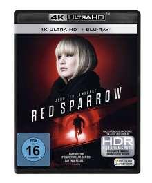Red Sparrow (Ultra HD Blu-ray & Blu-ray), 1 Ultra HD Blu-ray und 1 Blu-ray Disc