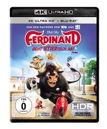Ferdinand - Geht STIERisch ab! (Ultra HD Blu-ray & Blu-ray), 1 Ultra HD Blu-ray und 1 Blu-ray Disc