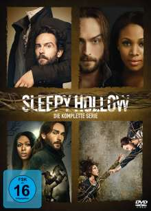 Sleepy Hollow (Komplette Serie), 17 DVDs