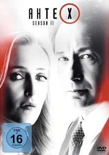 Akte X Staffel 11, 3 DVDs