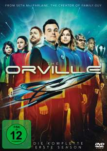 The Orville Staffel 1, 5 DVDs
