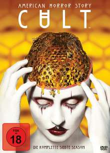 American Horror Story Staffel 7: Cult, 4 DVDs