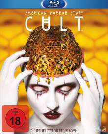 American Horror Story Staffel 7: Cult (Blu-ray), 3 Blu-ray Discs