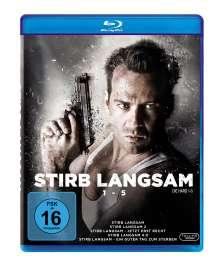 Stirb langsam 1-5 (Blu-ray), 5 Blu-ray Discs