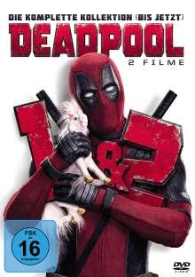 Deadpool 1 & 2, 2 DVDs