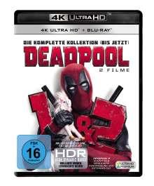 Deadpool 1 & 2 (Ultra HD Blu-ray & Blu-ray), 3 Ultra HD Blu-rays und 3 Blu-ray Discs
