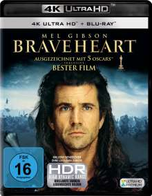 Braveheart (Ultra HD Blu-ray & Blu-ray), 1 Ultra HD Blu-ray und 1 Blu-ray Disc