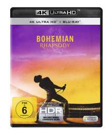 Bohemian Rhapsody (Ultra HD Blu-ray & Blu-ray), 1 Ultra HD Blu-ray und 1 Blu-ray Disc