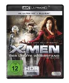 X-Men 3: Der letzte Widerstand (Ultra HD Blu-ray & Blu-ray), 1 Ultra HD Blu-ray und 1 Blu-ray Disc