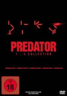 Predator 1-4 Collection, 4 DVDs