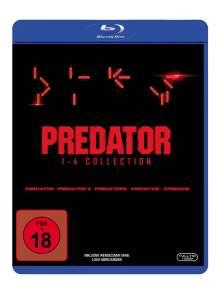 Predator 1-4 Collection (Blu-ray), 4 Blu-ray Discs