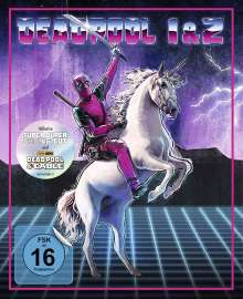 Deadpool 1 & 2 (Limited Unicorn Edition) (Blu-ray), 3 Blu-ray Discs