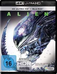 Alien 1 (Ultra HD Blu-ray & Blu-ray), 1 Ultra HD Blu-ray und 1 Blu-ray Disc