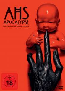 American Horror Story Staffel 8: Apocalypse, 3 DVDs