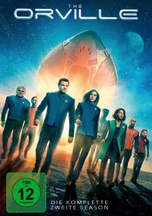 The Orville Staffel 2, 4 DVDs
