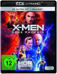X-Men: Dark Phoenix (Ultra HD Blu-ray & Blu-ray), 1 Ultra HD Blu-ray und 1 Blu-ray Disc