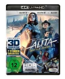 Alita: Battle Angel (Ultra HD Blu-ray & 3D & 2D Blu-ray), 1 Ultra HD Blu-ray und 2 Blu-ray Discs