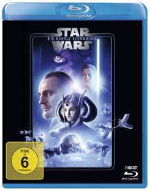 Star Wars Episode 1: Die dunkle Bedrohung (Blu-ray), 2 Blu-ray Discs